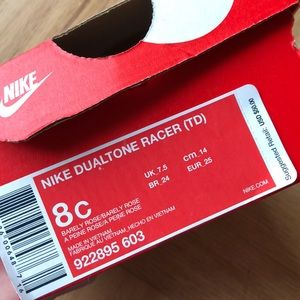 Nike Shoes - New Nike Dualtone Racer with Rose Gold